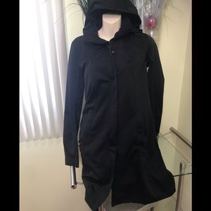 Lululemon Softshell Coat 3/4 length Jacket Hood
